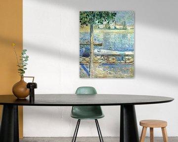 Evard Munch. Rivier de Seine in Parijs