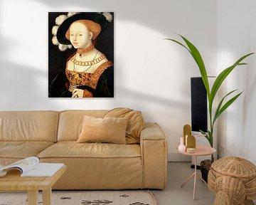 Hans Baldung Grien.Portrait einer Dame