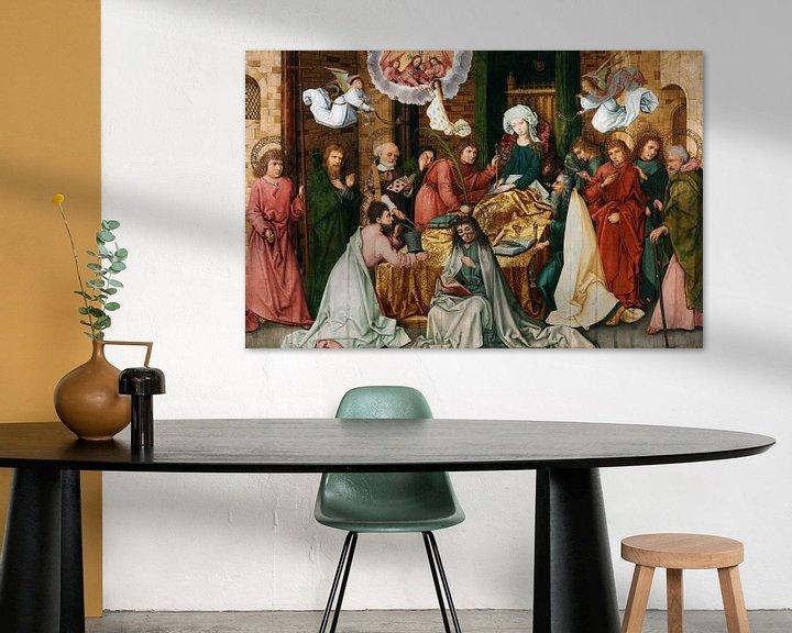 Beispiel: Hans Holbein.Schlafzimmer der Jungfrau
