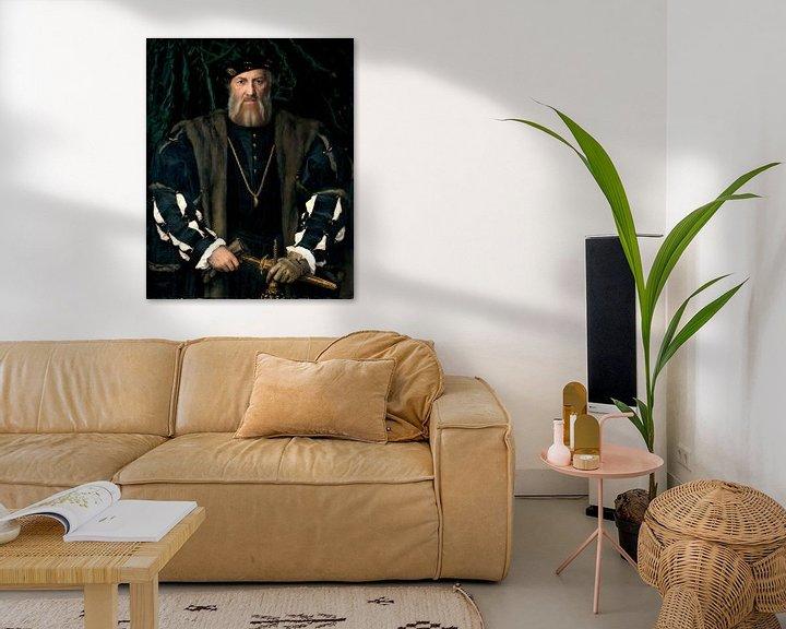 Beispiel: Hans Holbein.Charles de Solier