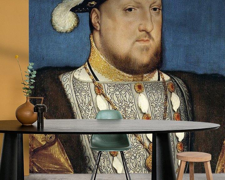Beispiel fototapete: Hans Holbein.Porträt Heinrichs III
