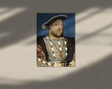 Hans Holbein.Porträt Heinrichs III