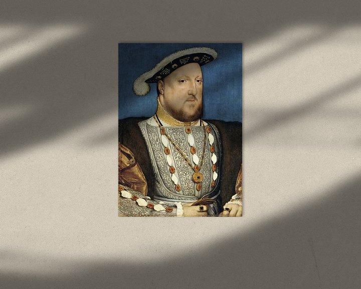 Beispiel: Hans Holbein.Porträt Heinrichs III