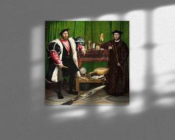 Hans Holbein.Die Botschafter
