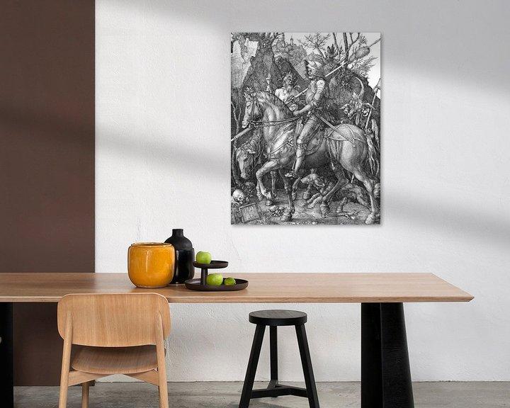 Beispiel: Albrecht Dürer.Ritter und der Teufel