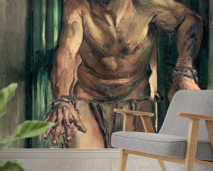 Beispiel fototapete: Lovis Corinth.Der Samson mit verbundenen Augen
