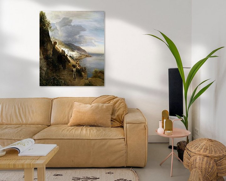 Beispiel: Oswald Achenbach.Die Amalfiküste