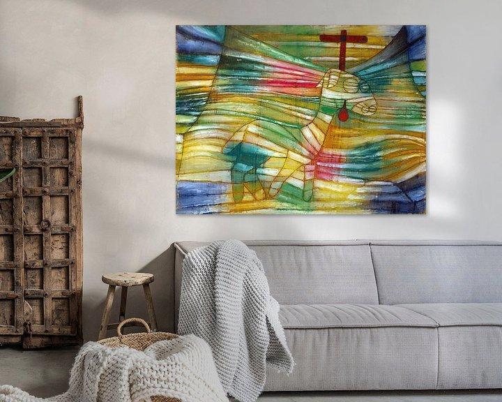 Beispiel: Paul Klee.Das Lamm