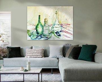 Glasflaschen. von Ineke de Rijk