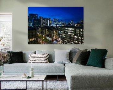Die Skyline von Rotterdam von Roy Poots