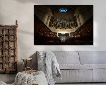 Schönes Interieur der Kuppelkirche in Helsinki von Roy Poots