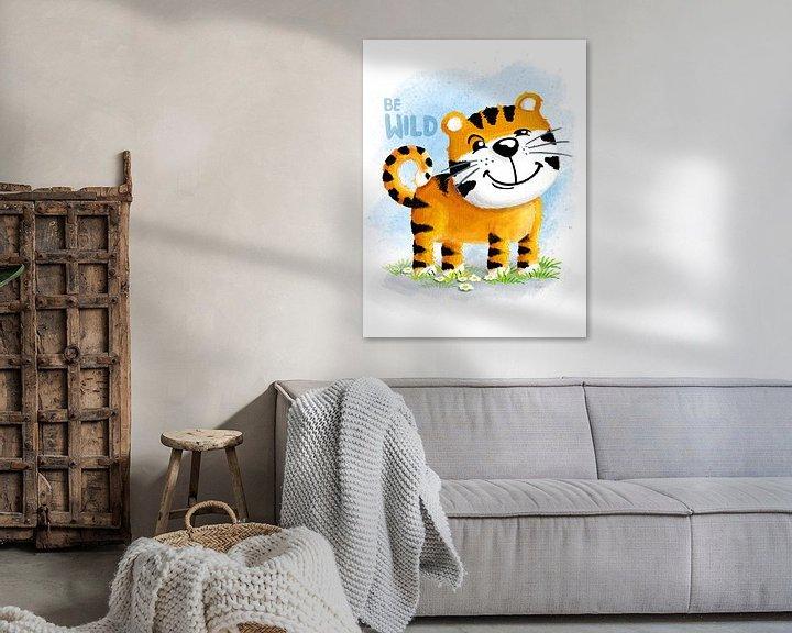 Beispiel: Be Wild Tiger von Stefan Lohr