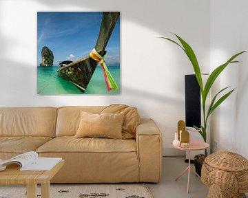 longtailboot van Denis Feiner