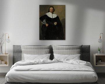 Portrait de Tieleman Roosterman, Frans Hals