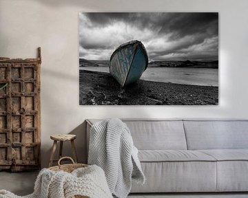 Verlassenes Boot von Gerwald Harmsen