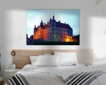 Schloss Güstrow, Güstrow, Mecklenburg-Vorpommern, Deutschland, Europa von Torsten Krüger