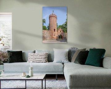 Fangelturm, Neubrandenburg, Mecklenburg-Vorpommern, Deutschland, Europa von Torsten Krüger