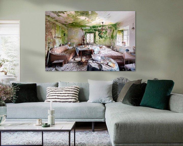 Beispiel: Wohnzimmer in Vervalde. von Roman Robroek
