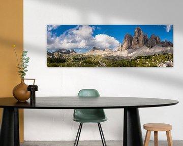Trois pics, Dolomites sur Denis Feiner
