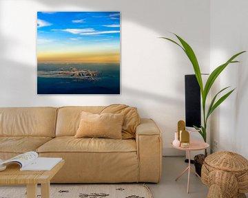 Farbiger Sonnenaufgang von Denis Feiner