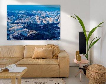 Le Mont Blanc au crépuscule sur Denis Feiner