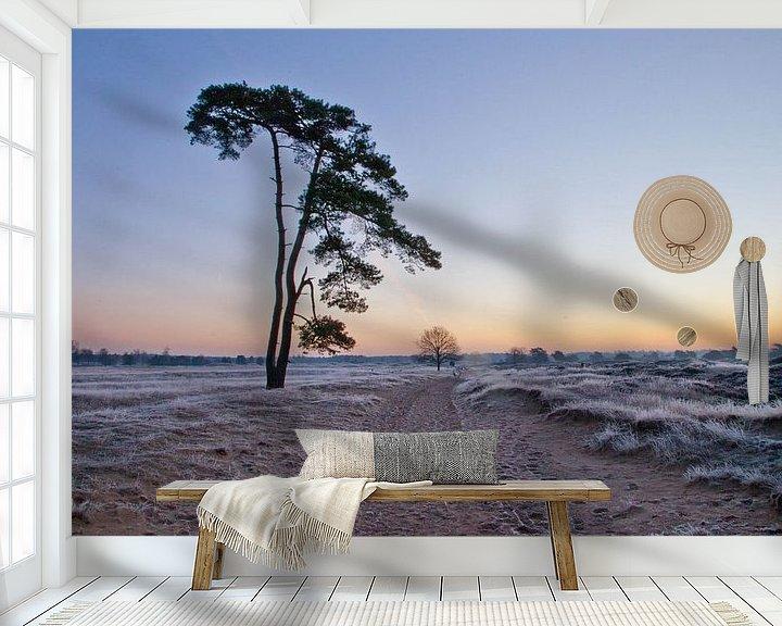 Sfeerimpressie behang: Tree van Anne Koop
