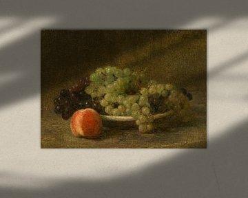 Stilleben mit Trauben und einem Pfirsich, Henri Fantin-Latour