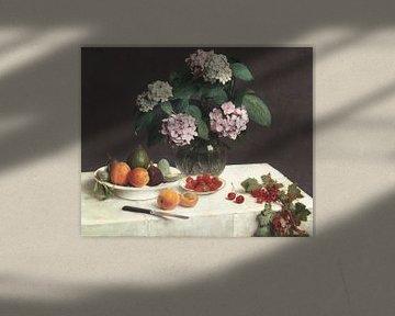 Stilleben (La Table Garnie), Henri Fantin-Latour