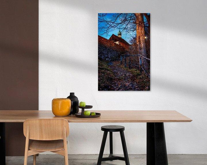 Impression: Le chemin du château de Selva Gardena sur Johnny Flash