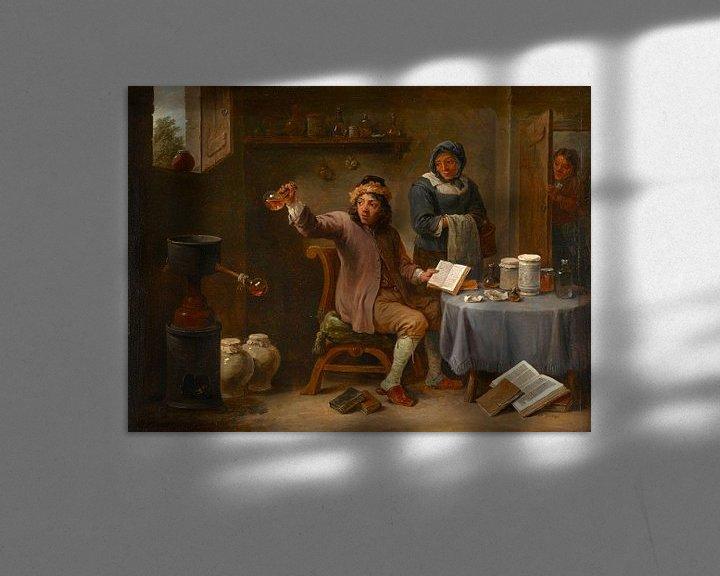 Beispiel: Die Konsultation, David Teniers II
