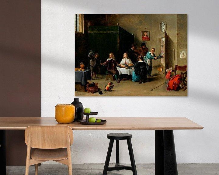 Beispiel: Der verlorene Sohn, David Teniers II