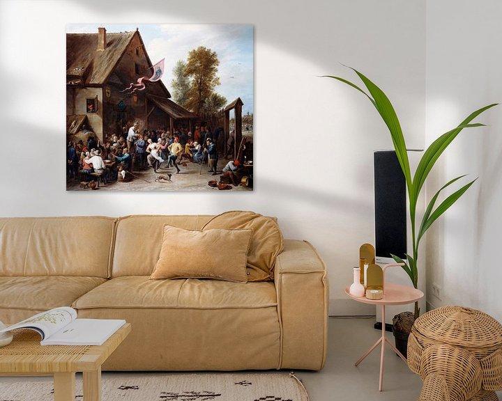 Beispiel: Kermis am St. Georgstag, David Teniers II