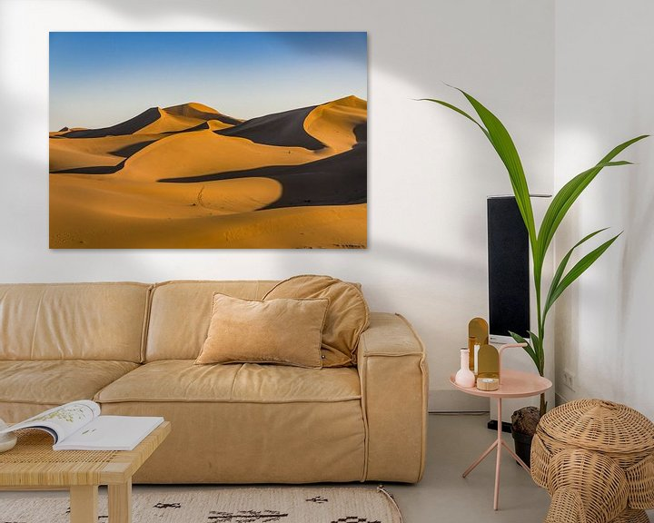 Impression: Sahara ; très Chegaga sur Bep van Pelt- Verkuil