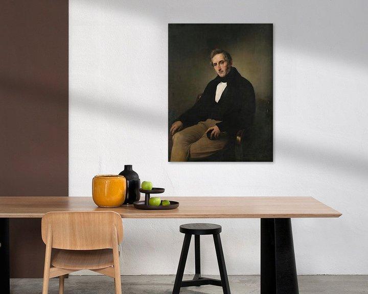 Beispiel: Porträt von Alessandro Manzoni, Francesco Hayez