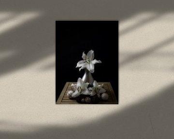 Stilleben der Lilie 2 von Wendy Tellier - Vastenhouw