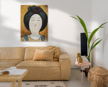 Chinesische 'Dicke Dame' III von Linda Dammann