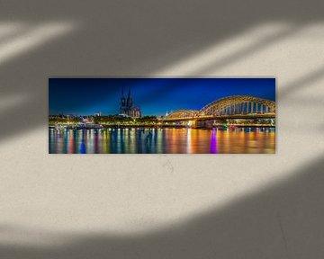 Keulen Panorama van Martin Wasilewski
