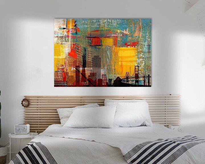 Beispiel: Into the city von PictureWork - Digital artist