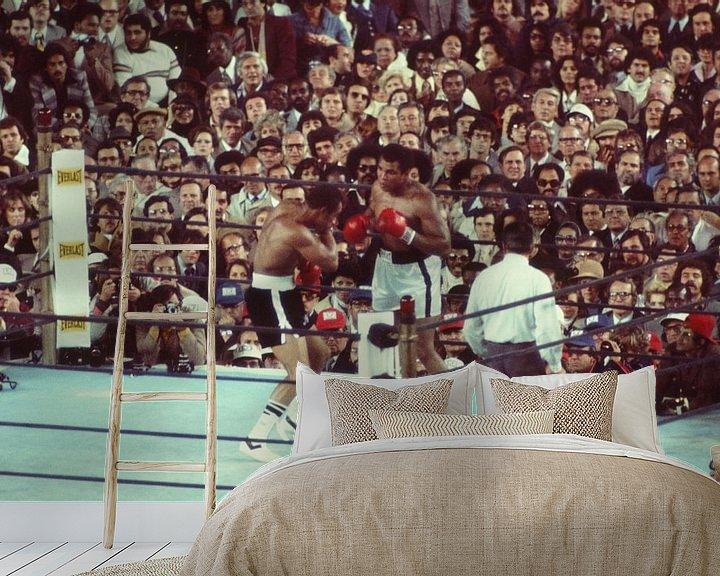 Beispiel fototapete: Ali gegen Ken Norton von Jaap Ros