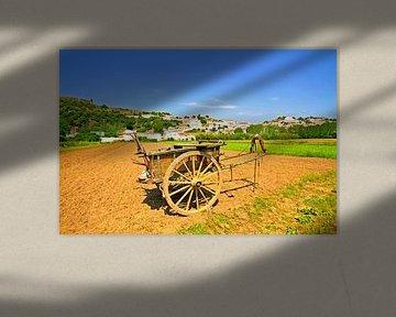 Dorfansicht von Aljezur in Portugal von Nisangha Masselink