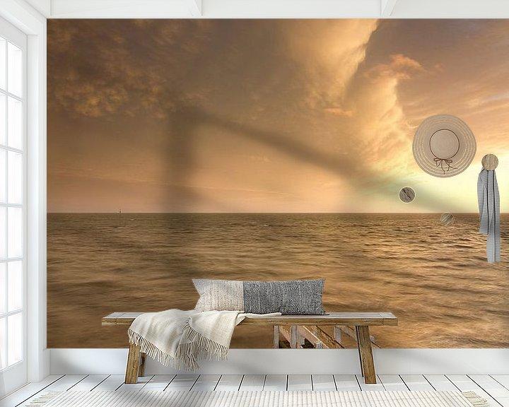 Sfeerimpressie behang: Einde van de storm van robert wierenga
