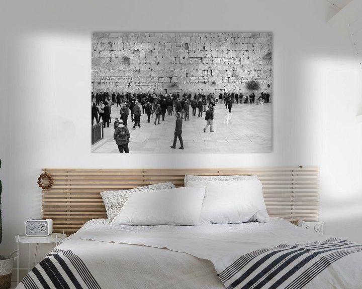 Sfeerimpressie: Klaagmuur / Westelijke Muur van Inge Hogenbijl