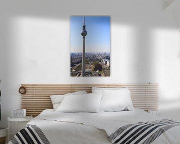 De Fernsehturm en Berlijn