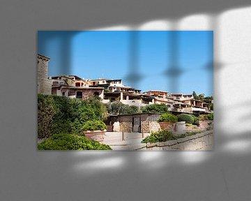 Porto Cervo sur l'île italienne de Sarine