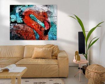 Flamingo-Kunst von The Art Kroep