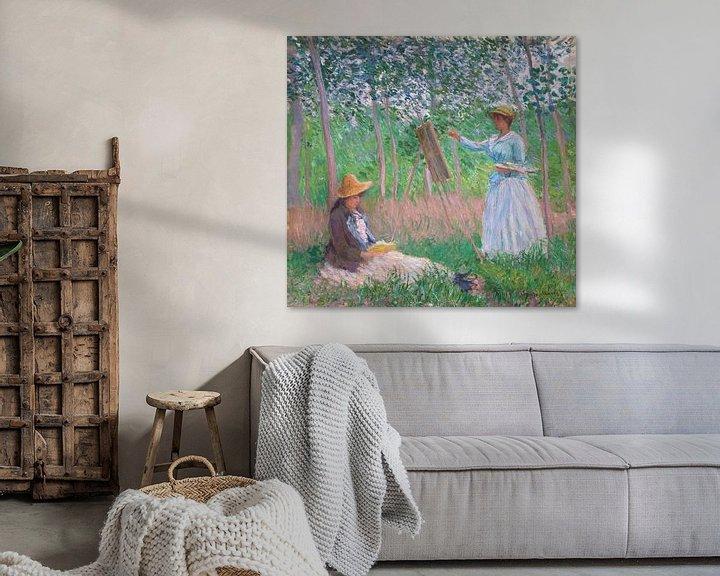 Beispiel: In den Wäldern von Giverny, Claude Monet