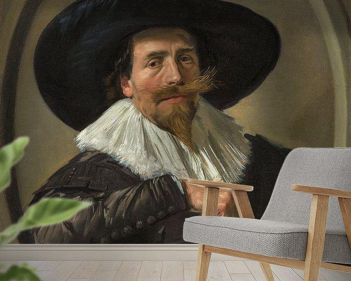 Beispiel fototapete: Porträt von Pieter Dircksz. Tjarck, Frans Hals