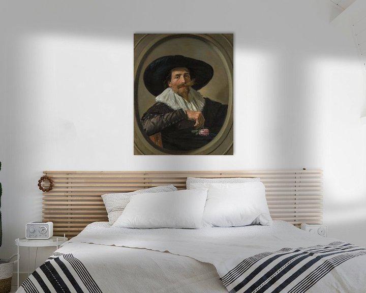 Beispiel: Porträt von Pieter Dircksz. Tjarck, Frans Hals