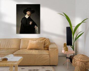 Porträt von Marten Looten, Rembrandt Harmensz. van Rijn