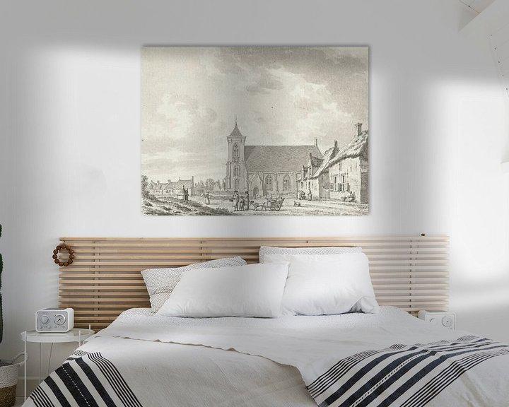 Beispiel: Blick auf die Kirche von Zoutelande, Jan Bulthuis